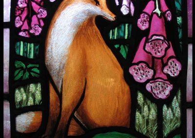 Fox in Foxgloves