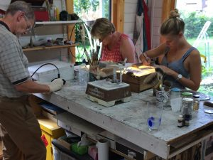 Stained Glass class in Surrey with Rachel Mulligan